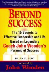 Beyond Success Book PDF