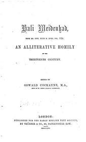 Early English Text Society: Original series, Volume 18