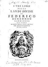 I tre libri delle Laudi divine