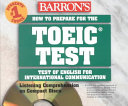 How to Prepare for the TOEIC Test Audio CD Pack PDF