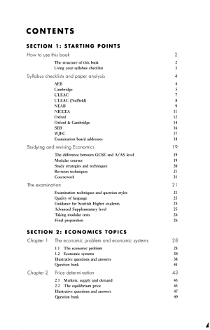 A Level Economics PDF