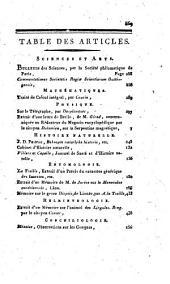 Magasin encyclopédique: ou Journal des sciences, des lettres et des arts, Volume6