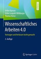 Wissenschaftliches Arbeiten 4 0 PDF