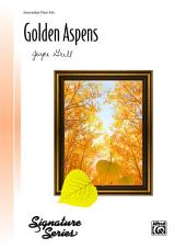 Golden Aspens: Intermediate Piano Solo