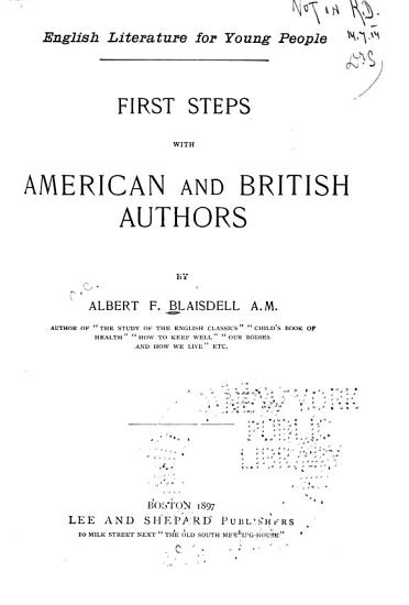 First Steps with American and British Authors PDF