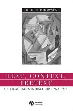 Text, Context, Pretext