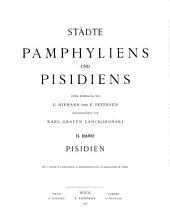 Städte Pamphyliens und Pisidiens: Band 2