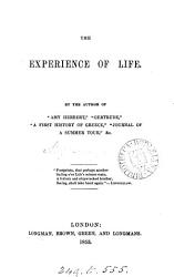 The experience of life  by the author of  Amy Herbert   PDF