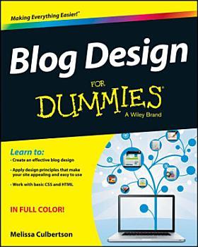 Blog Design For Dummies PDF