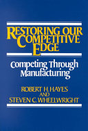 Restoring Our Competitive Edge PDF