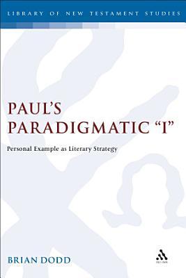 Paul s Paradigmatic  I