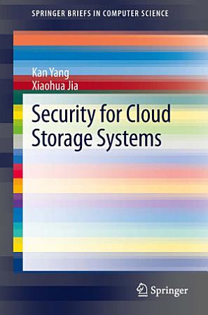 Security for Cloud Storage Systems PDF