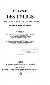 Le patois des Fourgs arrondissement de Pontarlier département du Doubs