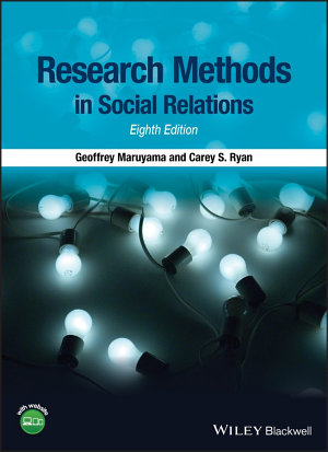 Research Methods in Social Relations PDF