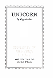 Unicorn Book PDF