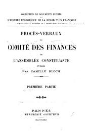 Procès-verbaux: Volume18