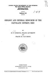 Geology and Mineral Resources of the Cleveland District, Ohio: Issues 816-818