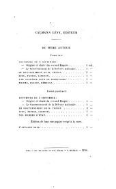 Mignet, Michelet, Henri Martin