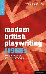 Modern British Playwriting: the 60s
