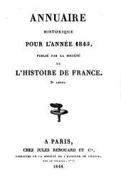 Annuaire historique: Volume9