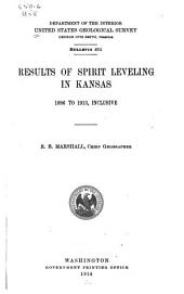Results of Spirit Leveling in Kansas, 1896 to 1913, Inclusive
