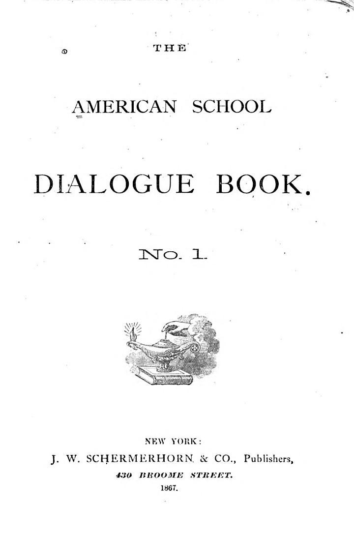 The American School Dialogue Book