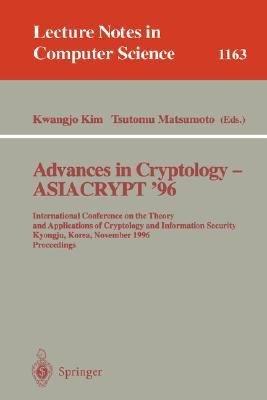 Advances in Cryptology   ASIACRYPT  96 PDF