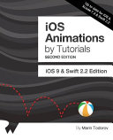 IOS Animations by Tutorials Second Edition PDF