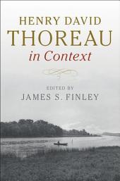 Henry David Thoreau in Context
