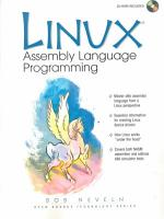 LINUX Assembly Language Programming PDF
