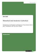 Minnelied und modernes Liebeslied PDF