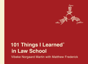 101 Things I Learned   in Law School Book