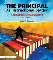 The Principal as Instructional Leader PDF