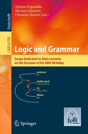 Logic and Grammar
