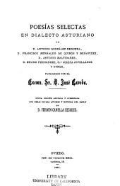 Poesías selectas en dialecto asturiano