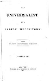 The Universalist and Ladies' Repository: Volume 9