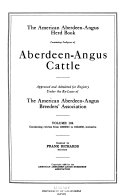 The American Aberdeen Angus Herd book PDF