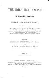 The Irish Naturalist: Volume 2