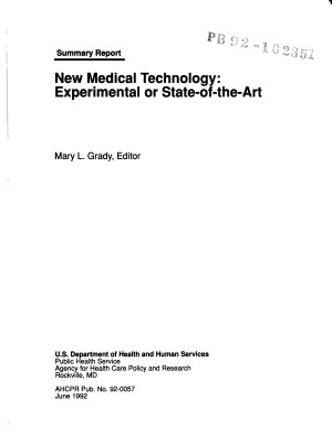 New Medical Technology PDF