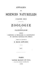 Annales des sciences naturelles: Volume 14
