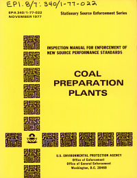Inspection Manual for the Enforcement of New Source Performance Standards