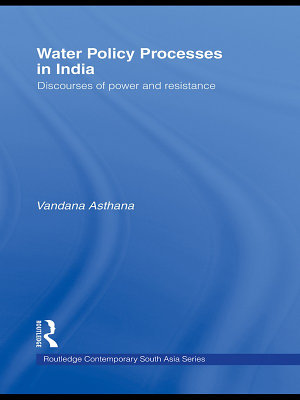 Water Policy Processes in India PDF