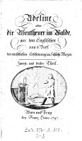 Adeline oder die Abentheuer im Walde PDF