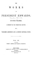 The Works of President Edwards in Four Volumes PDF