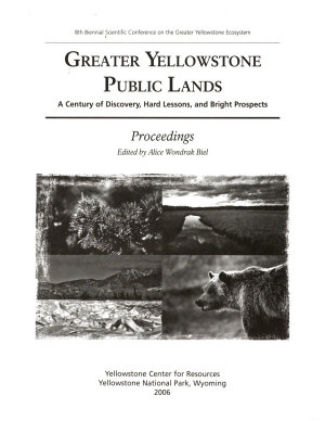 Greater Yellowstone Public Lands PDF