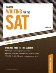 Master Writing For The Sat Book PDF