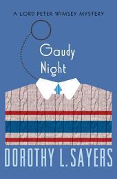 Gaudy Night