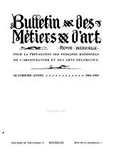 Bulletin des métiers d'art: Volume4