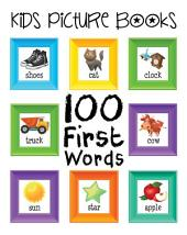 Kids Picture Books: 100 First Words
