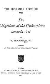 The Obligations of the Universities Towards Art